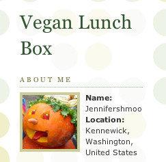 Vegan lunch box, mejor blog de cocina en los Bloggies 2006