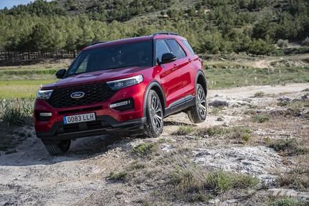 Ford Explorer 2021 Prueba 053