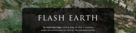 Flash Earth, compara imágenes de satélite
