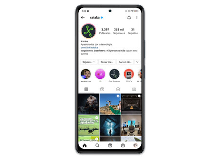 Xiaomi Redmi Note 10 Pro 02 Interfaz Instagram