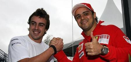 Fernando Alonso y Felipe Massa estarán en las World Finals de Cheste