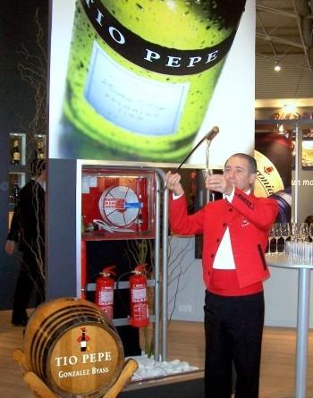 Alimentaria 2008: más vinos II