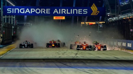 El Gran Premio de Singapur de Fórmula 1 está amenazado por la contaminación