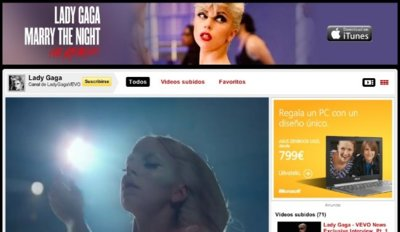 Vevo podría pasarse a Facebook para alojar sus vídeos musicales