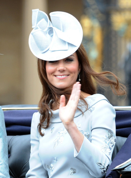 Kate Middleton Jane Corbett sombrero look