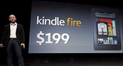 Amazon venderá Kindle Fire por debajo del precio que le cuesta producirla, según IHS iSupply