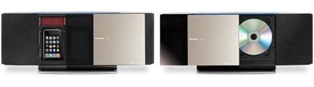 Panasonic SC-HC40 y SC-HC30, sistemas de alta fidelidad con dock para dispositivos Apple