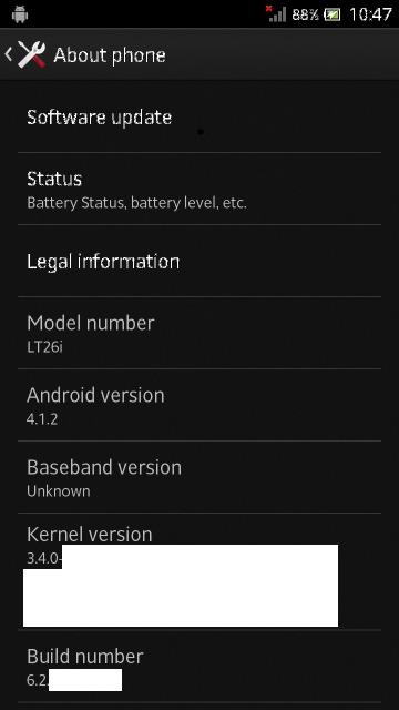 Foto de Imágenes de Android 4.1 en Sony Xperia S (1/5)