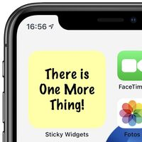 Sticky Widgets: la app de Notas adhesivas del Mac llega al iPhone y al iPad
