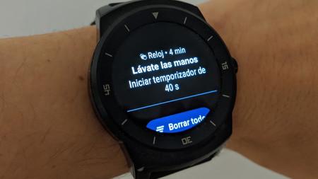Tu reloj Wear OS te recordará y ayudará a lavarte las manos periódicamente
