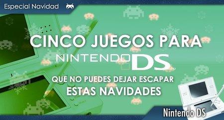 Cinco videojuegos para DS que no puedes dejar escapar estas navidades