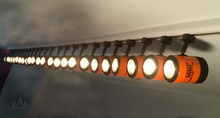 Lámparas recicladas 3