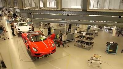 Así se fabrica un Porsche 918 Spyder