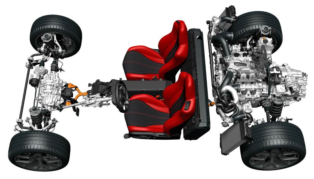 Honda NSX estrcutura motores