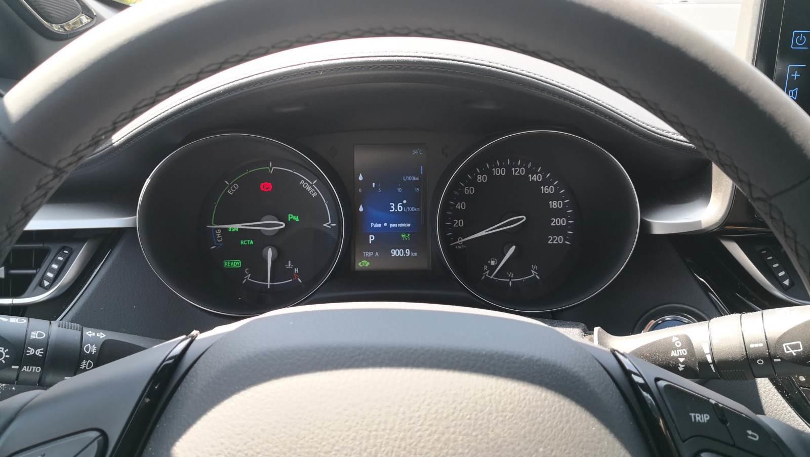 Foto de Toyota C-HR Dynamic Plus - Fotos interiores y detalles (6/15)