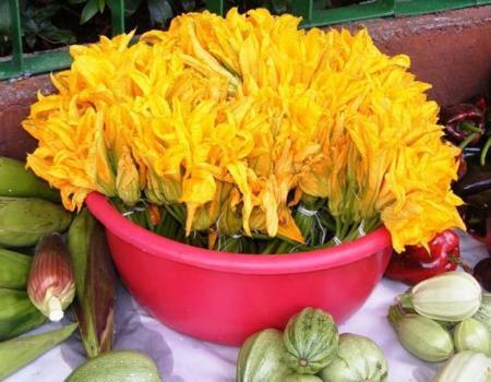 Una flor deliciosa: La de calabaza