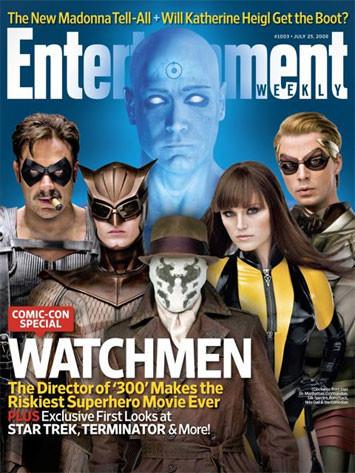 Foto de 'Watchmen', nuevas imágenes y comparativa (4/14)
