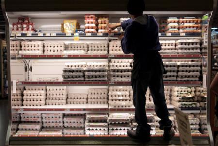 huevo refrigerado