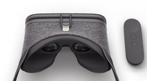 Daydream View, la realidad virtual móvil de Google ya no es de cartón