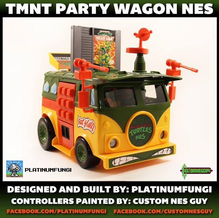 Foto de TMNT Party Wagon NES (1/7)