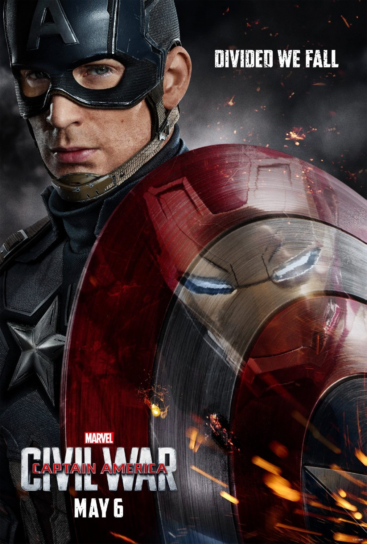 Foto de 'Capitán América: Civil War', los carteles de la película (1/22)