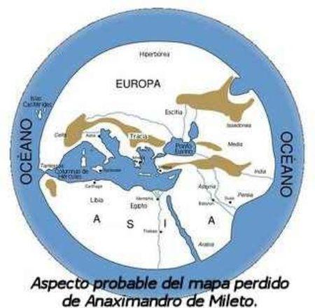 Cuando se creía que el mundo no era ni plano ni esférico, sino cilíndrico