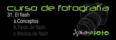 Curso de Fotografía: 31. El flash: Conceptos
