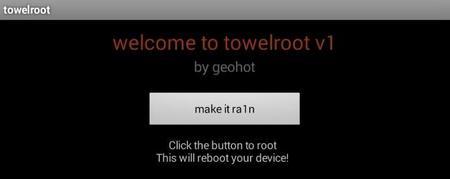 GeoHot lanza towelroot, una aplicación para hacer root al Galaxy S5 y cualquier otro Android
