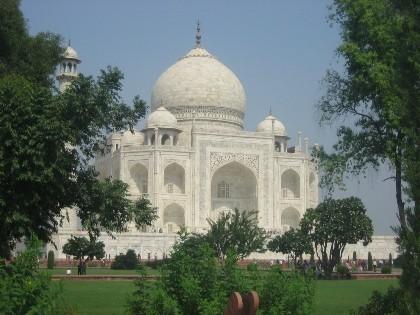 Una gallega en la India: Visita al Taj Mahal
