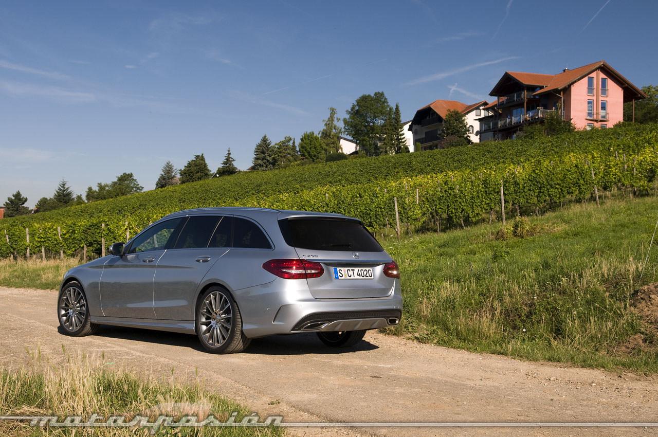 Mercedes benz clase c estate toma de contacto 13 45 for Mercedes benz clase c