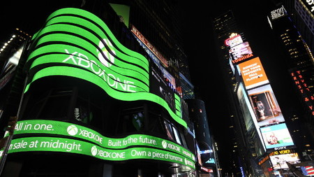 Microsoft: Xbox One es la consola que más rápido se ha vendido en noviembre en Estados Unidos