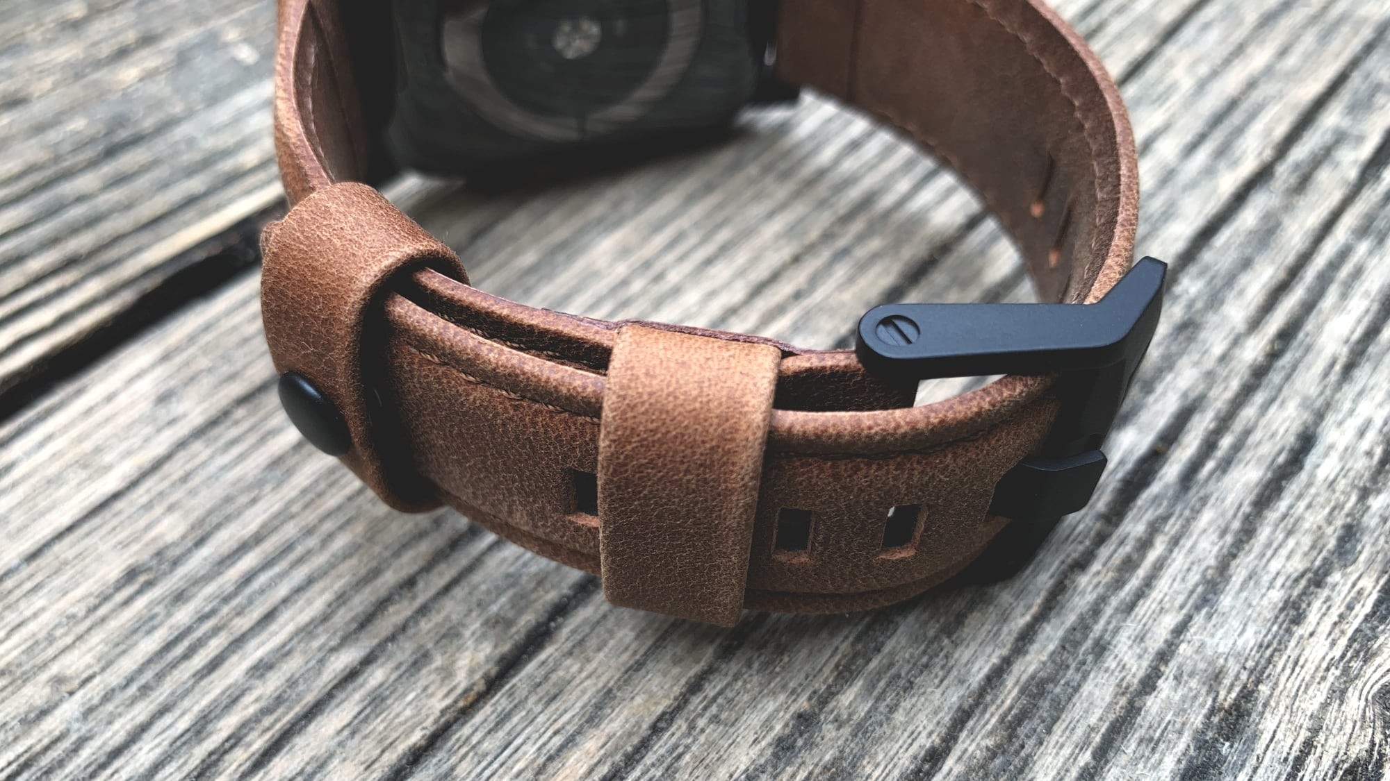 Foto de UAG Leather Strap para Apple Watch (4/18)