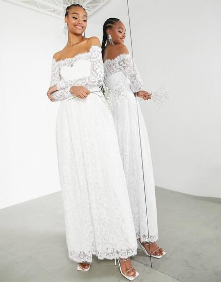 Asos Edition Bridal Novia 08