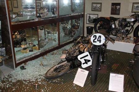 Robo en el National Motorcycle Museum británico