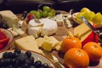 Quesos y frutas frescas: una sana combinación de alimentos