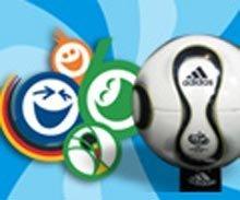 Fussbol, un helado para los niños del Mundial de Fútbol de Alemania 2006