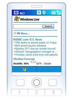 Lanzado Windows Live para móvil