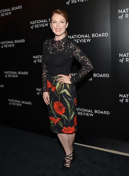 Premios National Board Of Review Jessica Chastain Julianne Moore