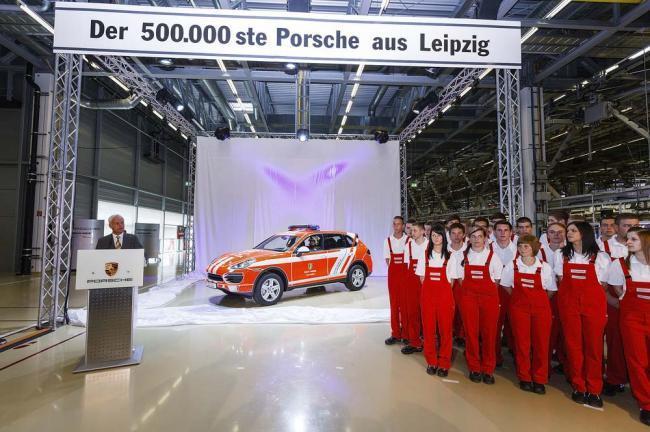 500.000 Porsche en Leipzig