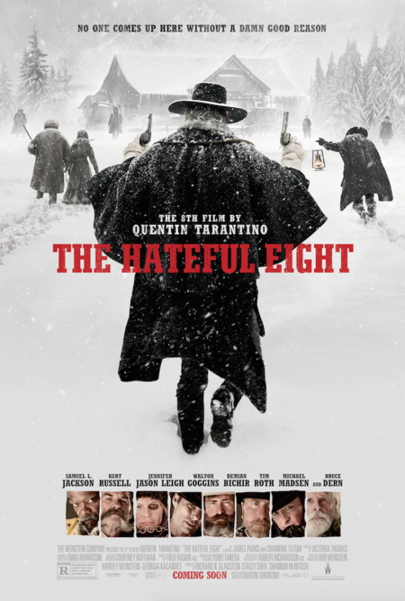Cartel final de The Hateful Eight