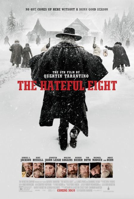 Cartel final de The Hateful Eight