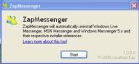 ZapMessenger, elimina cualquier Messenger del ordenador