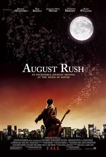 Póster y tráiler de 'El triunfo de un sueño' ('August Rush')