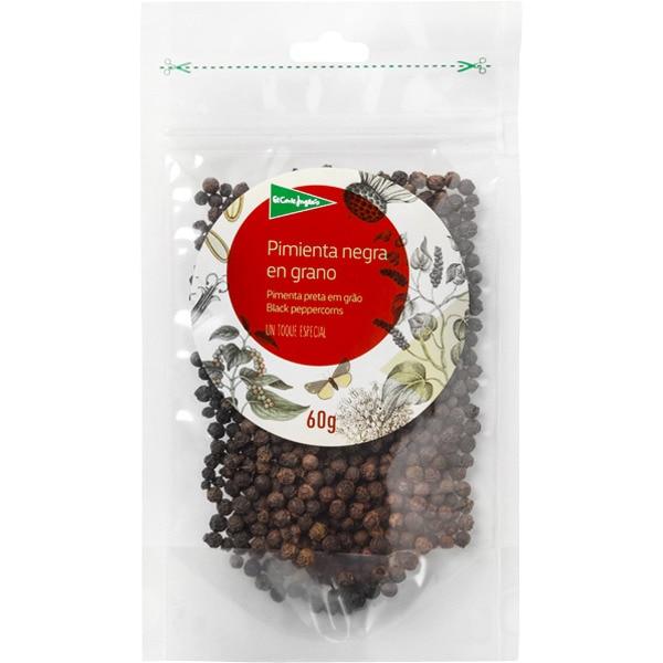 Pimienta negra en grano bolsa 60 g