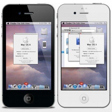 Un iPhone ¿con OS X Lion?