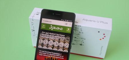 BQ Aquaris U Plus, análisis: a la reconquista del usuario medio