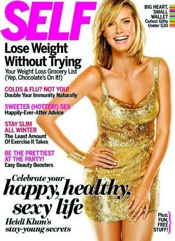 Los secretos de belleza de Heidi Klum en la revista Self