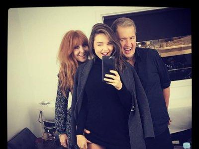 El selfie de Miranda Kerr y Mario Testino con motivo de la próxima campaña de Charlotte Tilbury