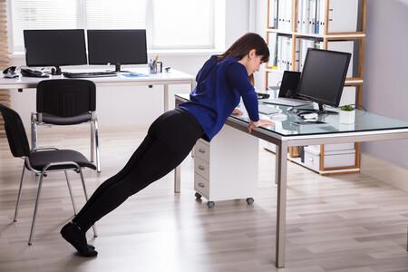 Flexión en mesa