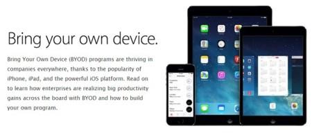 BYOD también para iPhone y iPad